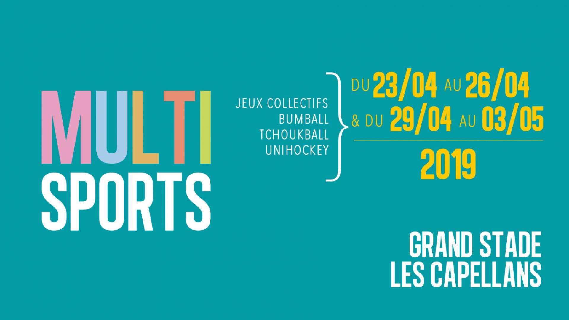 STAGES MULTISPORTS 7/12 ANS