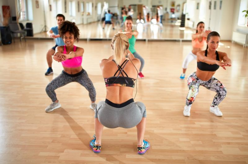 INITIATION ET DEMONSTRATION DE CARDIO DANCE